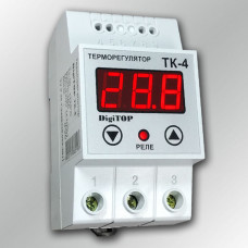 Терморегулятор DigiTOP ТК-4 с выносным датчиком t